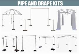 Pipe And Drape Hire Adjustable Pipe And Drape Kits Event Pipe And Drape Booth