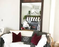 Floor To Ceiling Mirror by Living Room Mirror Etsy
