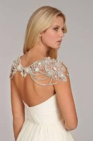 wedding dress necklace sparkly shoulder necklace designs for beautiful brides