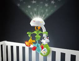 in 1 baby projection mobile music crib toy stars infant musical