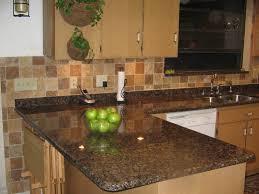 tile backsplash for kitchens with granite countertops baltic brown granite kitchen countertop home design and decor