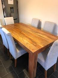 Natural Solid Wood Furniture Oak Furniture Land Mantis Light Natural Solid Mango 6ft X 3ft