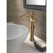 delta faucet 798lf cz cassidy champagne bronze one handle bathroom