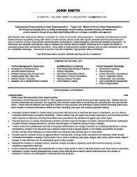 sales representative or account manager resume template premium