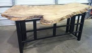 live edge desk with drawers live edge furniture made in the usa custom