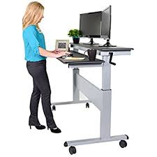 amazon com stand up desk store 60 inch electric stand black
