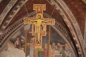 san damiano crucifix st francis and the san damiano cross archbishop curley high school