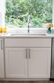 white kitchen sneak peek stainless steel modern farmhouse sink