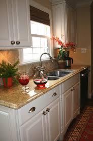 Kitchen Countertops White Cabinets Kitchen Remodel After Granite Counters White Cabinets And Granite