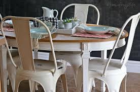 farmhouse kitchen furniture white metal farmhouse style chairs for the kitchen