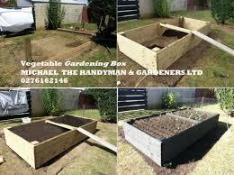 vegetable garden box handyman and gardening 0276162146 east auckland