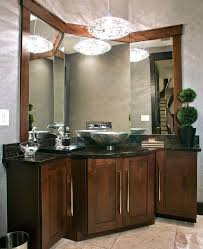 Powder Room Vanities Contemporary Huntwood Cabinets Powder Room Contemporary With Bathroom Vanity