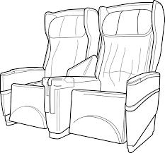 siege avion image vectorielle gratuite siège avion sièges image gratuite