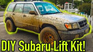 raised subaru impreza how to lift your subaru for cheap ep 77 youtube