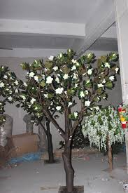factory price artificial magnolia trees wedding decoration silk