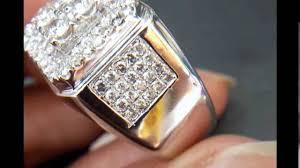 model berlian 638 cincin pria berlian eropa ring emas