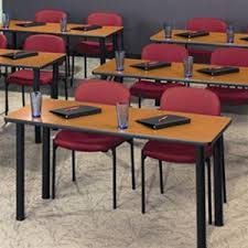 training chairs with tables tables and chairs