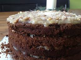 german chocolate cake with love from the vine