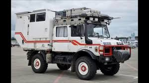 survival truck camper mercedes benz unimog camper autocaravana rv 4x4 off road 2 youtube