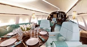 stunning private jet interiors international property u0026 travel
