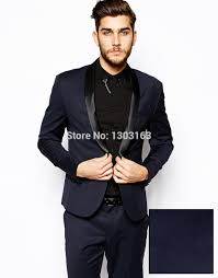 men wedding 2016 velvet blue groom tuxedos suits for mens 3 pieces suits men