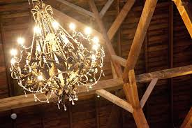 Rustic Wedding Chandelier Barn Wedding And Reception Auburn Wine And Roses Country Estate