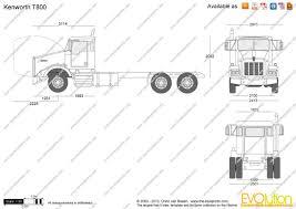 2013 kenworth t800 price the blueprints com vector drawing kenworth t800
