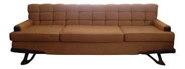 vintage sears howard parlor mid century sofa chairish