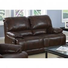 brown leather loveseat recliner foter