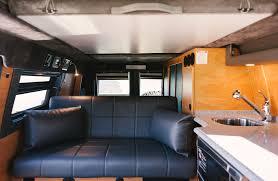 nissan titan camper interior 2015 sportsmobile ford e series classic