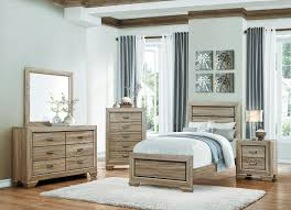Teenage Bedroom Sets Homelegance Beechnut Panel Bedroom Set Light Elm B1904 1