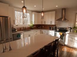stone countertops 8 foot kitchen island lighting flooring