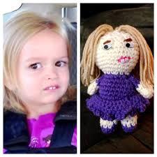 The Chloe Meme - recently i ve been on an amigurumi meme kick i present chloe we