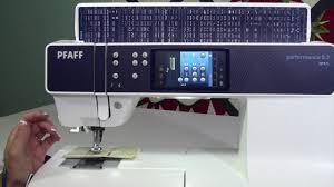 pfaff sewing machine manual pfaff performance 5 2 34 buttonholes corded buttonholes