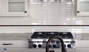 Kitchen No Backsplash by What Is The Name Of The Tile Backsplash And Bronze Accent Tile