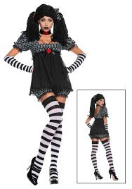 witch doctor and voodoo doll costume plus size exclusive gothic rag doll costume