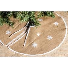 burlap christmas tree skirt barnyard rustic burlap christmas tree skirt 36 tree skirts