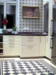 backsplash for black and white kitchen cement tile backsplashes villa lagoon tile