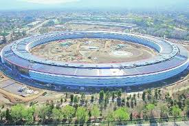 New Apple Headquarters The U0027spaceship U0027 Has Landed The Financial Express