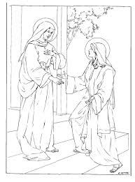 coloring page angel visits joseph angel visits mary coloring page preschool pages for all and gabriel
