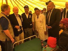 who un leaders visit yemen
