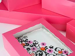 where to buy a cake box pink cake boxes