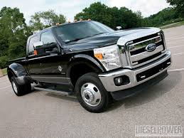 Ford F350 Truck Gas Mileage - 2011 ford vs ram vs gm diesel truck shootout diesel power magazine