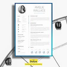 resume template cv template resume templates creative market