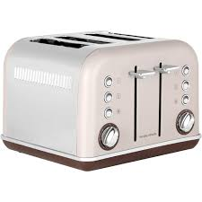 Cream 4 Slice Toaster Morphy Richards Accents 242102 4 Slice Toaster Pebble