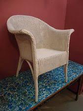 Lloyd Loom Bistro Chair 1940s Chair Ebay