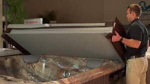 hotspring spas pool tables 2 bismarck nd how to use the lift n glide tub cover system youtube