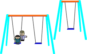 Double Swing Clipart Single And Double Swings