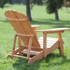 Big Chair And Ottoman by Coral Coast Big Daddy Reclining Tall Wood Adirondack Chair With