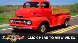 Classic Ford Truck Seats - 1951 ford cab over engine f6 pickup sold youtube
